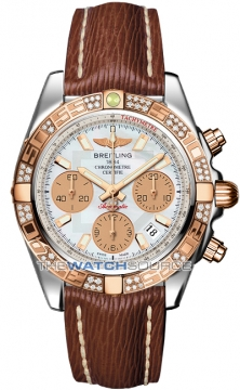 Breitling Chronomat 41 Mens watch, model number - cb014012/a722-2lts, discount price of £6,860.00 from The Watch Source
