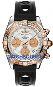 Breitling Chronomat 41 Mens watch, model number - cb0140aa/a722-1or, discount price of £9,430.00 from The Watch Source