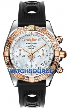 Breitling Chronomat 41 Mens watch, model number - cb0140aa/a723-1or, discount price of £9,610.00 from The Watch Source