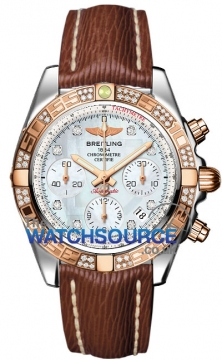 Breitling Chronomat 41 Mens watch, model number - cb0140aa/a723-2lts, discount price of £9,450.00 from The Watch Source