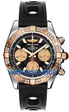 Breitling Chronomat 41 Mens watch, model number - cb0140aa/ba53-1or, discount price of £9,100.00 from The Watch Source