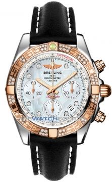 Breitling Chronomat 41 Mens watch, model number - cb0140aa/a723-1lt, discount price of £8,540.00 from The Watch Source