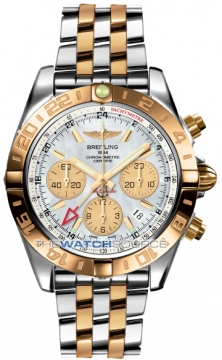 Breitling Chronomat 44 GMT Mens watch, model number - cb042012/a739-tt, discount price of £10,450.00 from The Watch Source