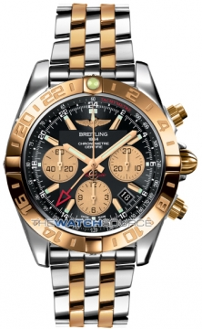 Breitling Chronomat 44 GMT Mens watch, model number - cb042012/bb86-tt, discount price of £10,050.00 from The Watch Source