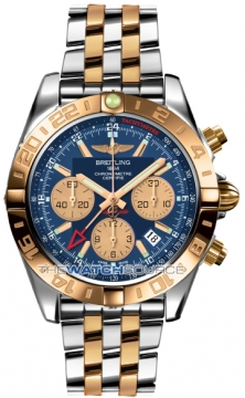 Breitling Chronomat 44 GMT Mens watch, model number - cb042012/c858-tt, discount price of £10,050.00 from The Watch Source