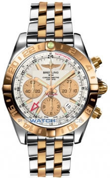 Breitling Chronomat 44 GMT Mens watch, model number - cb042012/g755-tt, discount price of £10,050.00 from The Watch Source