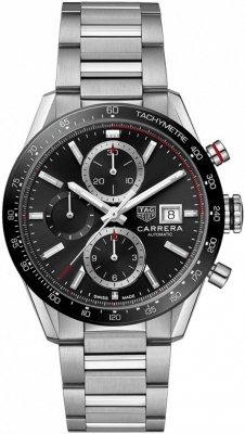 Buy this new Tag Heuer Carrera Calibre 16 Chronograph 41mm cbm2110.ba0651 mens watch for the discount price of £3,420.00. UK Retailer.