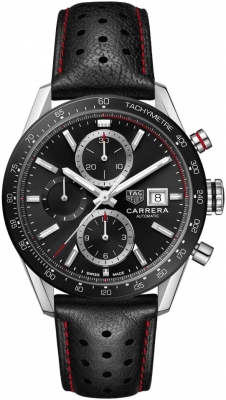Tag Heuer Carrera Calibre 16 Chronograph 41mm cbm2110.fc6454 watch