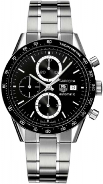 Tag Heuer Carrera Chronograph Tachymeter Mens watch, model number - cv2010.ba0794, discount price of £2,635.00 from The Watch Source
