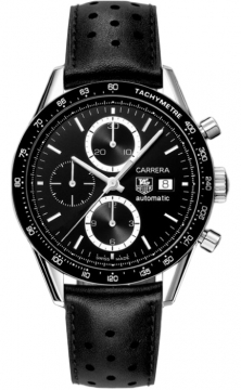 Tag Heuer Carrera Chronograph Tachymeter Mens watch, model number - cv2010.fc6233, discount price of £2,555.00 from The Watch Source