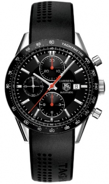 Tag Heuer Carrera Chronograph Tachymeter Mens watch, model number - cv2014.ft6014, discount price of £2,620.00 from The Watch Source