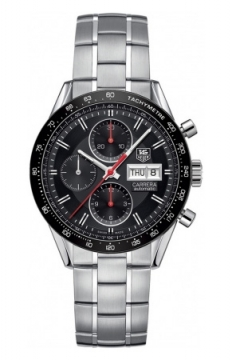 Tag Heuer Carrera Day Date Automatic Chronograph 41mm Mens watch, model number - cv201ah.ba0725, discount price of £2,911.00 from The Watch Source