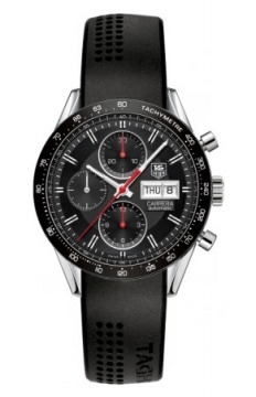 Tag Heuer Carrera Day Date Automatic Chronograph 41mm Mens watch, model number - cv201ah.ft6014, discount price of £2,635.00 from The Watch Source