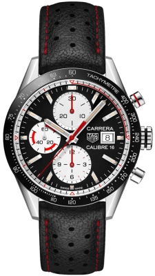 Buy this new Tag Heuer Carrera Calibre 16 Chronograph 41mm cv201ap.fc6429 mens watch for the discount price of £3,330.00. UK Retailer.