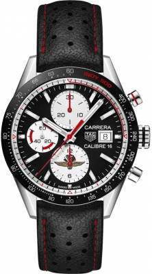 Buy this new Tag Heuer Carrera Calibre 16 Chronograph 41mm cv201as.fc6429 mens watch for the discount price of £3,657.50. UK Retailer.