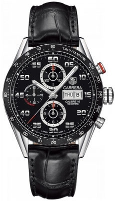 Buy this new Tag Heuer Carrera Day Date Automatic Chronograph 43mm cv2a1r.fc6235 mens watch for the discount price of £3,272.00. UK Retailer.
