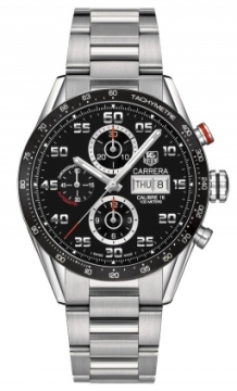 Buy this new Tag Heuer Carrera Day Date Automatic Chronograph 43mm cv2a1r.ba0799 mens watch for the discount price of £3,645.00. UK Retailer.