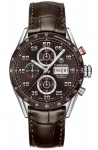 Tag Heuer Carrera Day Date Automatic Chronograph 43mm cv2a1s.fc6236 watch