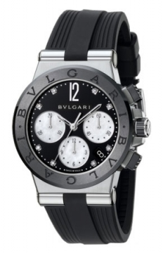 Bulgari Diagono Chronograph 37mm Ladies watch, model number - dg37bsbcvdch/8, discount price of £5,040.00 from The Watch Source