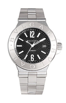 Bulgari Diagono Automatic 40mm Mens watch, model number - dg40bssd, discount price of £4,037.00 from The Watch Source