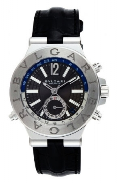 Bulgari Diagono Automatic GMT 40mm Mens watch, model number - dg40c14sldgmt, discount price of £4,275.00 from The Watch Source