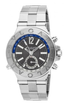 Bulgari Diagono Automatic GMT 40mm Mens watch, model number - dg40c14ssdgmt, discount price of £4,887.00 from The Watch Source