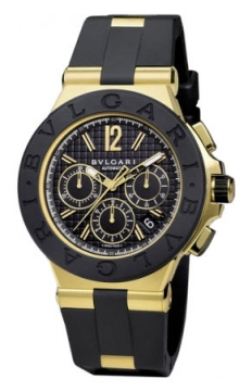 Bulgari Diagono Chronograph 42mm Mens watch, model number - dg42bgvdch, discount price of £13,054.00 from The Watch Source