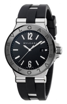 Bulgari Diagono Automatic 42mm Mens watch, model number - dg42bscvd, discount price of £3,956.00 from The Watch Source