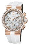 Bulgari Diagono Chronograph 35mm dgp35wgdwvdch/8 watch
