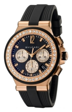 Bulgari Diagono Chronograph 40mm Ladies watch, model number - dgp40bgdvdch/8, discount price of £23,193.00 from The Watch Source
