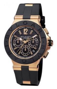 Bulgari Diagono Chronograph 42mm Mens watch, model number - dgp42bgvdch, discount price of £13,054.00 from The Watch Source
