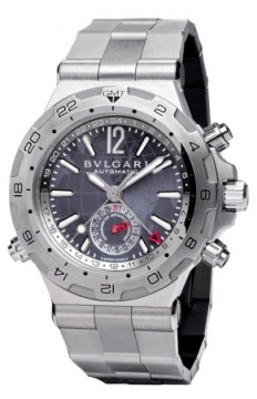 Bulgari Diagono Professional GMT 42mm Mens watch, model number - dp42c14ssdgmt, discount price of £5,373.00 from The Watch Source