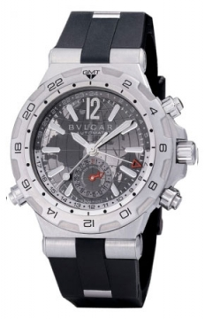 Bulgari Diagono Professional GMT 42mm Mens watch, model number - dp42c14svdgmt, discount price of £4,918.00 from The Watch Source