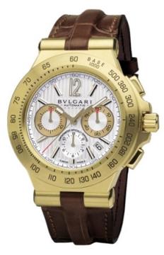 Bulgari Diagono Professional Automatic 42mm Mens watch, model number - dp42c6gldch, discount price of £14,754.00 from The Watch Source