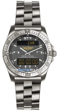 Breitling Aerospace Avantage Mens watch, model number - e7936210/m513-ti, discount price of £2,480.00 from The Watch Source