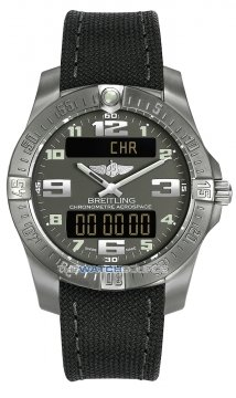 Breitling Aerospace Evo Mens watch, model number - e7936310/f562-1ft, discount price of £2,300.00 from The Watch Source