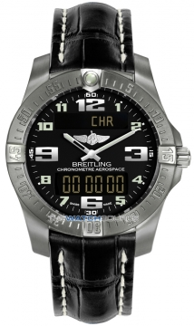 Breitling Aerospace Evo Mens watch, model number - e7936310/bc27-1cd, discount price of £2,620.00 from The Watch Source