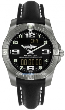 Breitling Aerospace Evo Mens watch, model number - e7936310/bc27-1ld, discount price of £2,370.00 from The Watch Source