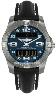 Breitling Aerospace Evo Mens watch, model number - e7936310/c869-1lt, discount price of £2,279.00 from The Watch Source