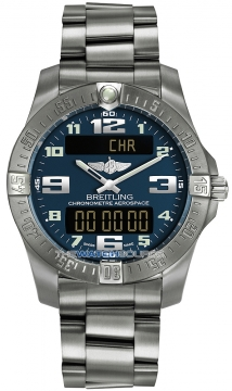 Breitling Aerospace Evo Mens watch, model number - e7936310/c869-ti, discount price of £2,800.00 from The Watch Source