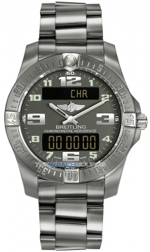 Breitling Aerospace Evo Mens watch, model number - e7936310/f562-ti, discount price of £2,800.00 from The Watch Source