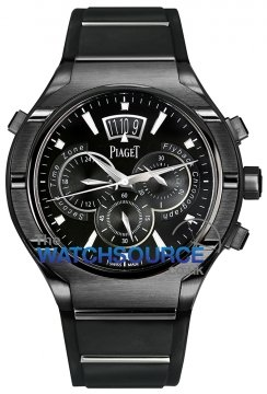 Piaget Polo FortyFive Flyback Chronograph GMT 45mm g0a37004 watch