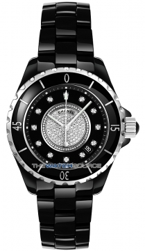 Chanel J12 Automatic 38mm Ladies watch, model number - H1757, discount price of £7,075.00 from The Watch Source