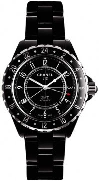 Chanel J12 GMT 42mm Midsize watch, model number - h2012, discount price of £3,505.00 from The Watch Source