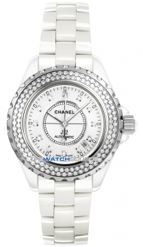 Chanel J12 Automatic 42mm Midsize watch, model number - h2013, discount price of £10,345.00 from The Watch Source