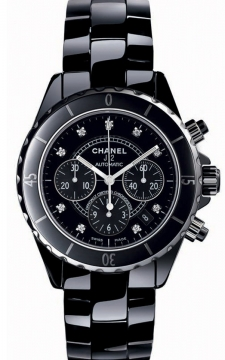 Chanel J12 Automatic Chronograph 41mm Midsize watch, model number - h2419, discount price of £6,336.00 from The Watch Source