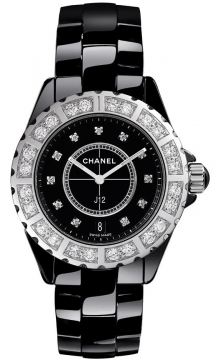 Chanel J12 Quartz 33mm Ladies watch, model number - h2427, discount price of £9,710.00 from The Watch Source