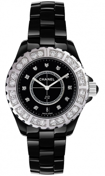 Chanel J12 Quartz 38mm Ladies watch, model number - h2428, discount price of £11,340.00 from The Watch Source