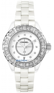 Chanel J12 Quartz 38mm Ladies watch, model number - h2430, discount price of £11,345.00 from The Watch Source