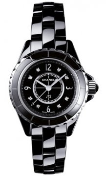 Chanel J12 Quartz 29mm Ladies watch, model number - h2569, discount price of £3,894.00 from The Watch Source